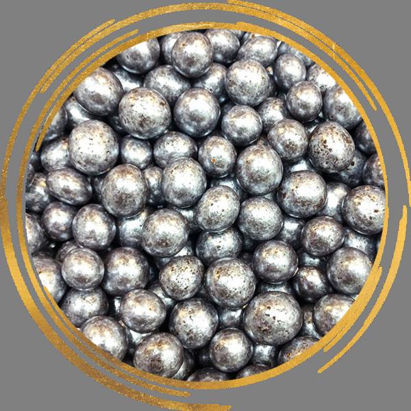 Фундук в шоколадной глазури Серебро