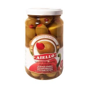 оливки с перцем