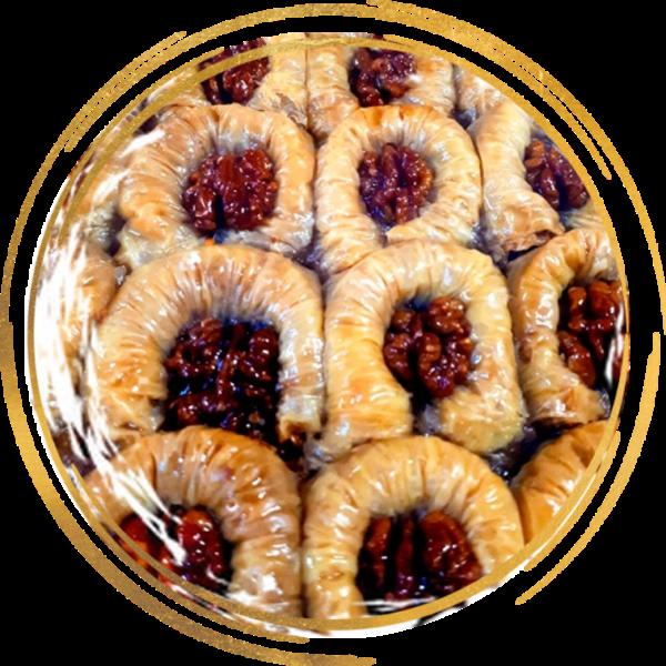 Пахлава с грецким орехом Роза 700г