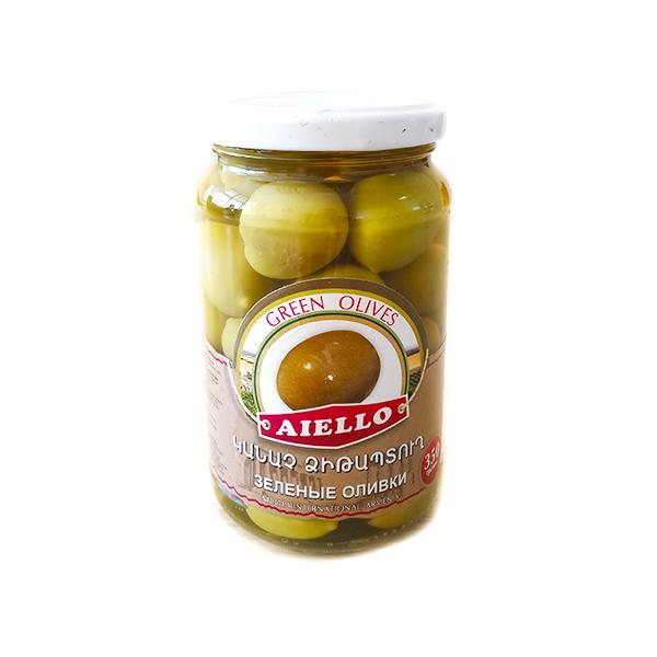 зеленые оливки с косточкой