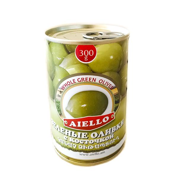 зеленые оливки консервированные